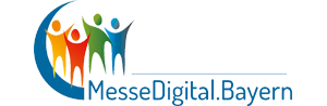 Das Logo :: messedigital.bayern Messe - Digital - Bayern